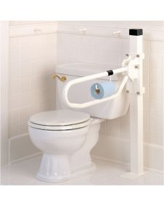 Toilet Hinged Arm Support