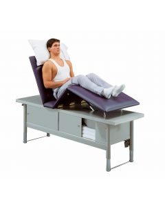 Tri W-G Treatment Table with Storage
