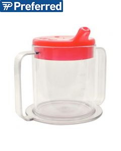 Independence Two-Handled Clear Mug