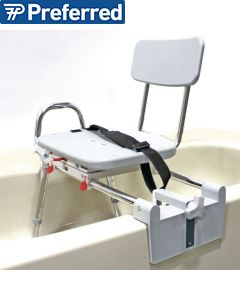 Tub Mount Swivel Sliding Bench