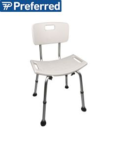 Homecraft Adjustable Shower Chair with Back