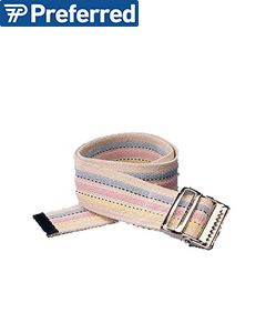 Sammons Preston Pastel-Stripe Gait Belt