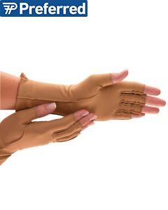 Isotoner Therapeutic Gloves (Open Finger)