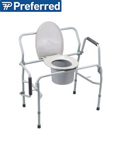 Homecraft Heavy Duty Drop-Arm Commode