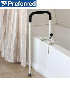 Floor to Tub Bath Rail