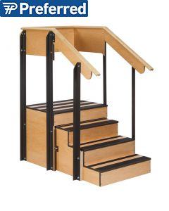 Metron Value Space Saver Staircase