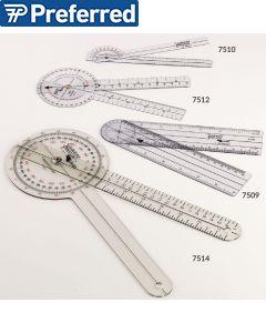 Transparent Plastic Goniometers