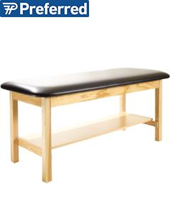 Metron Value Treatment Table Open Shelf