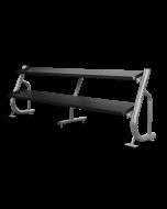 Matrix Flat-Tray Dumbbell Racks