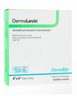 DermaLevin Waterproof Adhesive Foam Wound Dressing