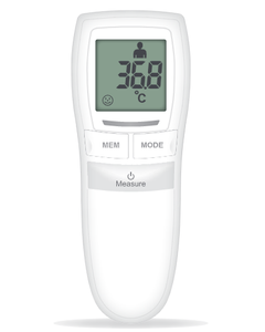 Non-Touch Thermometer front view