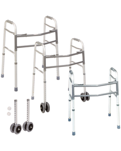 Days Bariatric Two-Button Walker
