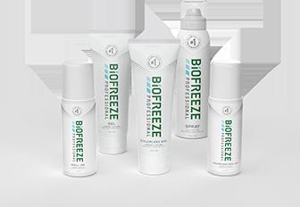 Biofreeze Professional Patient Sizes