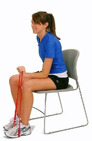 Wrist Extensions in chair