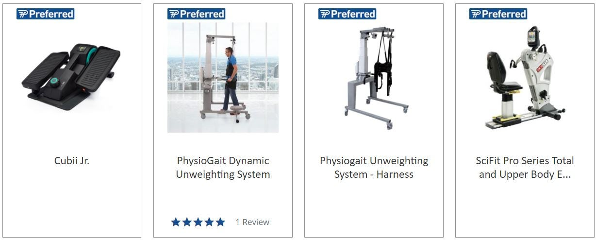 cardio equipment performance preferred
