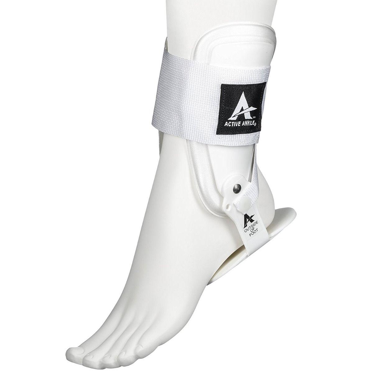 White Active Ankle T2 rigid brace