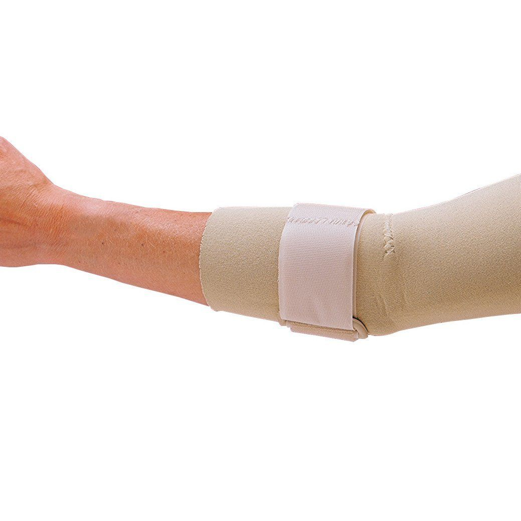 Rolyan Neoprene Elbow Sleeve with Strap