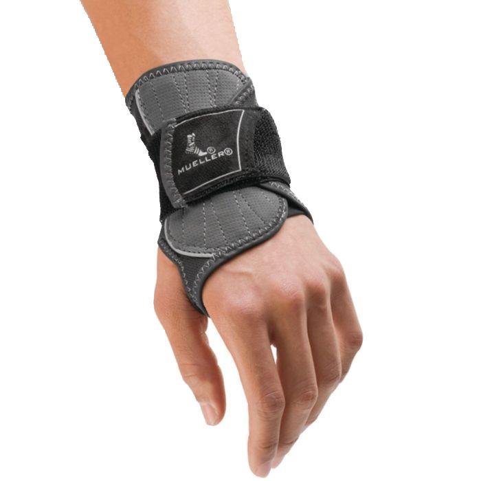 Black and gray Hg80 Premium Wrist Brace