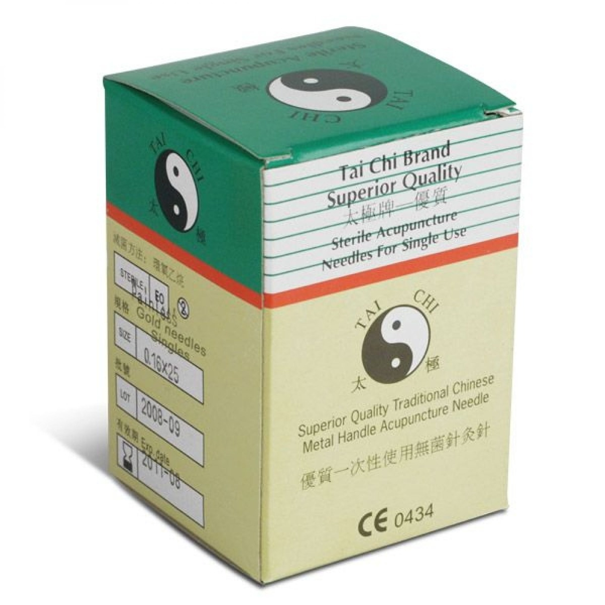 Box of acupuncture needles