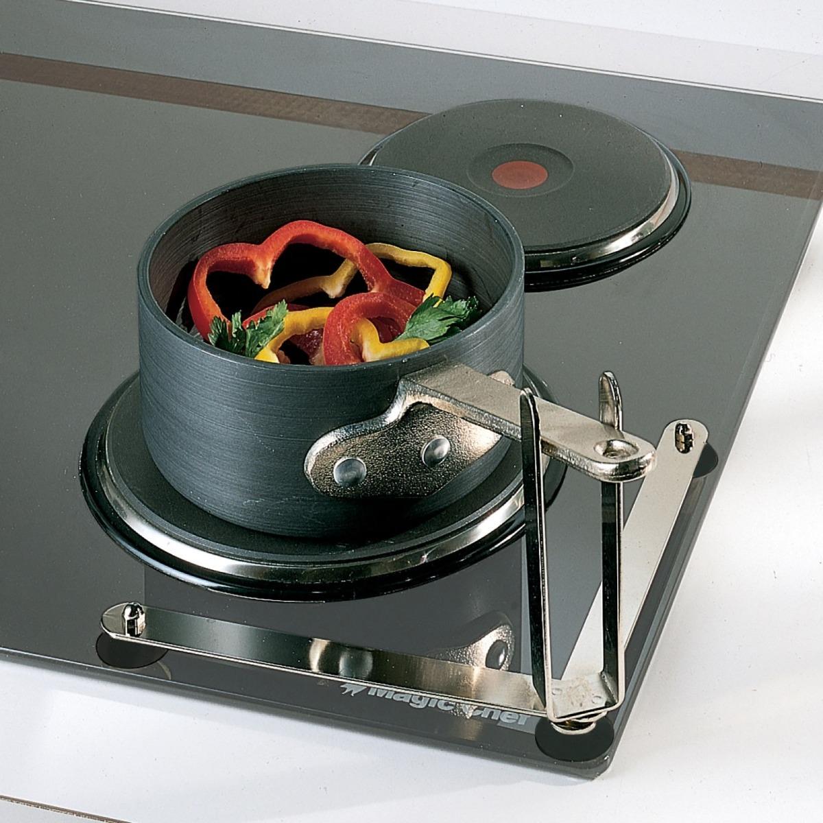 folding pan holder