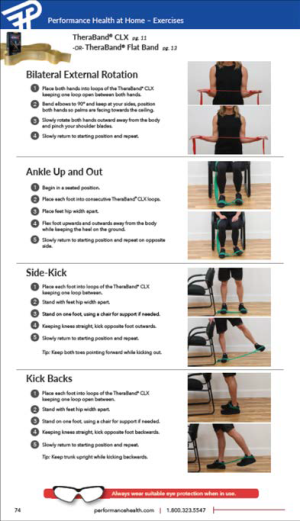 Sample at Home Exercises