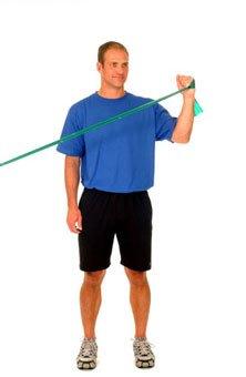 Shoulder External Rotation at 45 Degrees