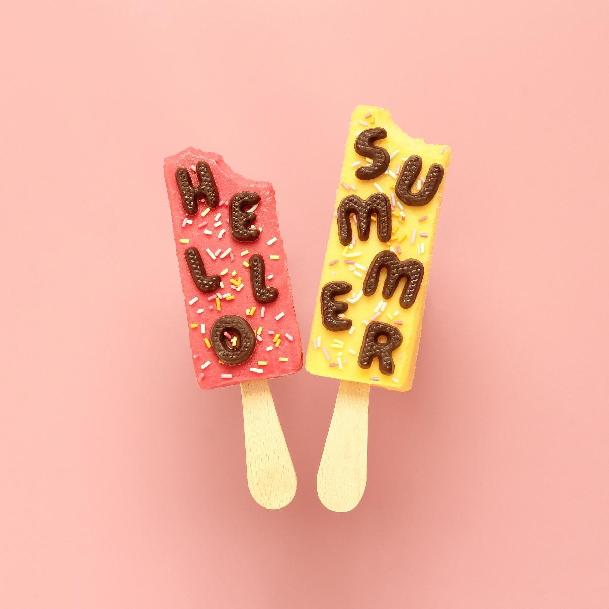 hello summer popsicles