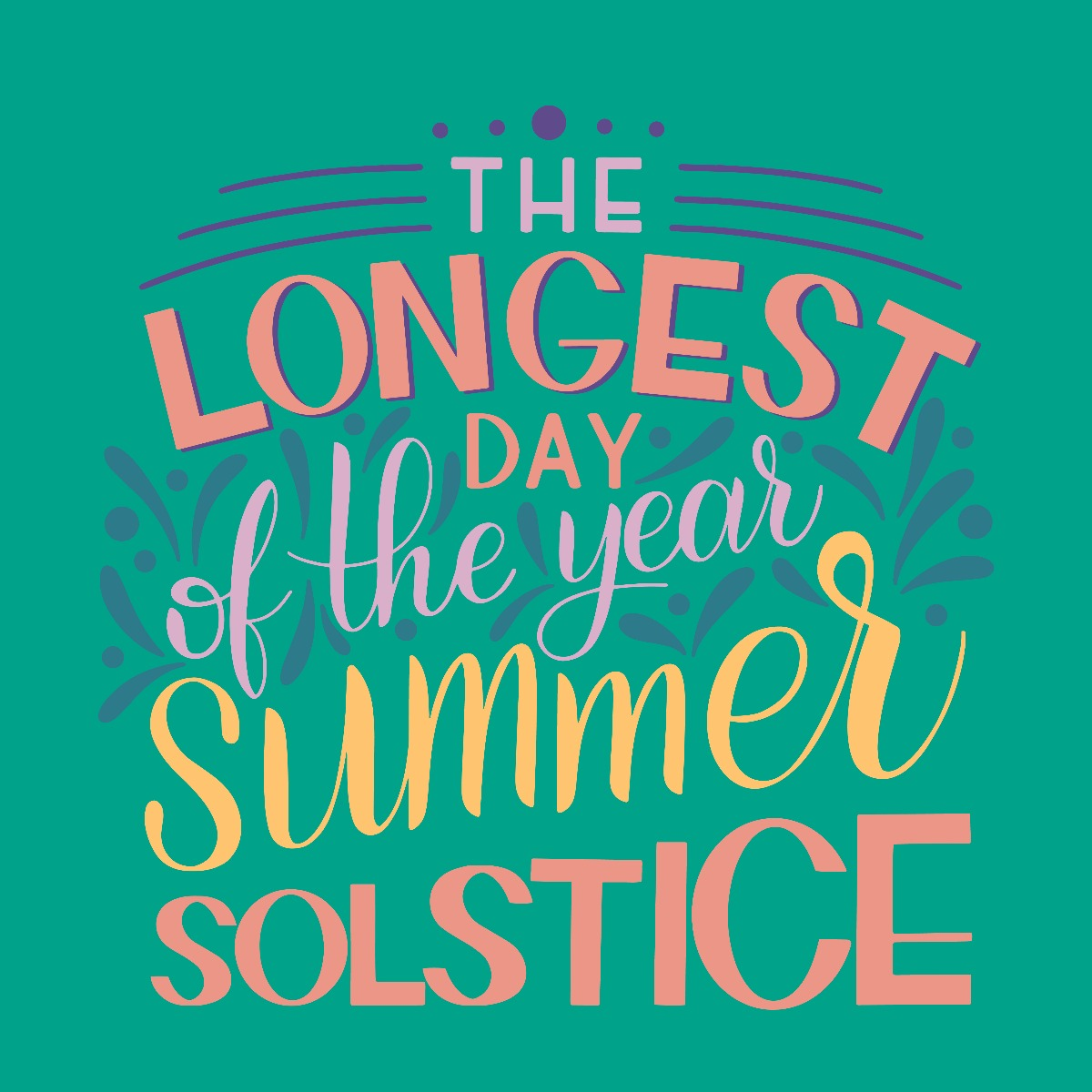 longest day of the year summer solstice