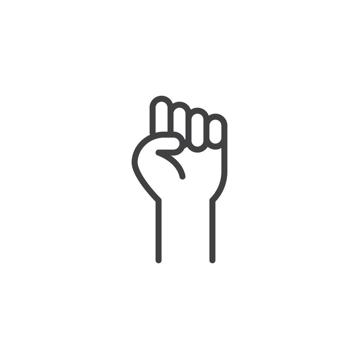 fist graphic