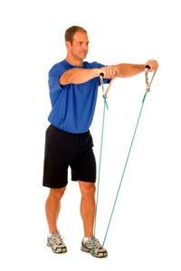 Shoulder Front Raise in Standing