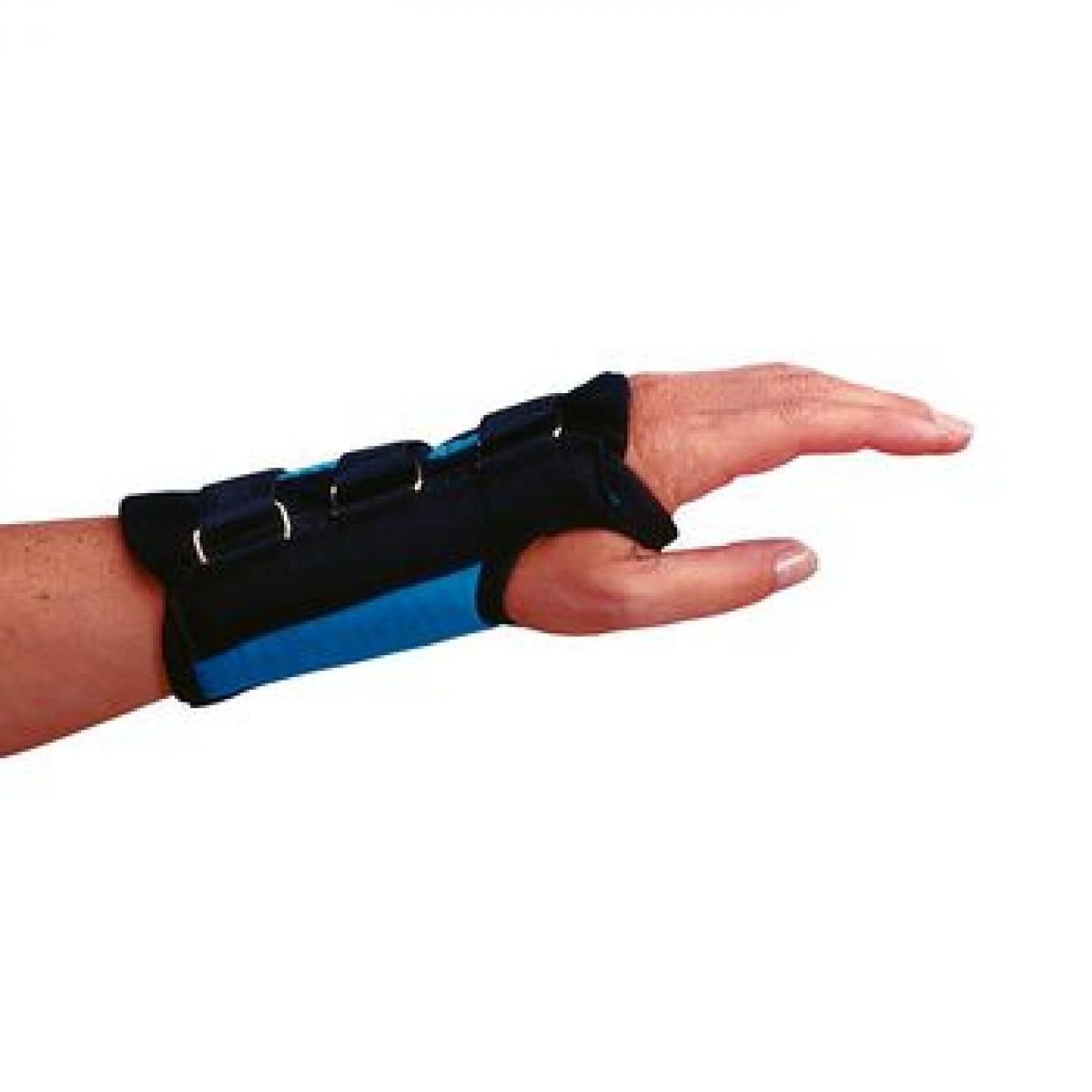 Rolyan Teal D-Ring Wrist Brace