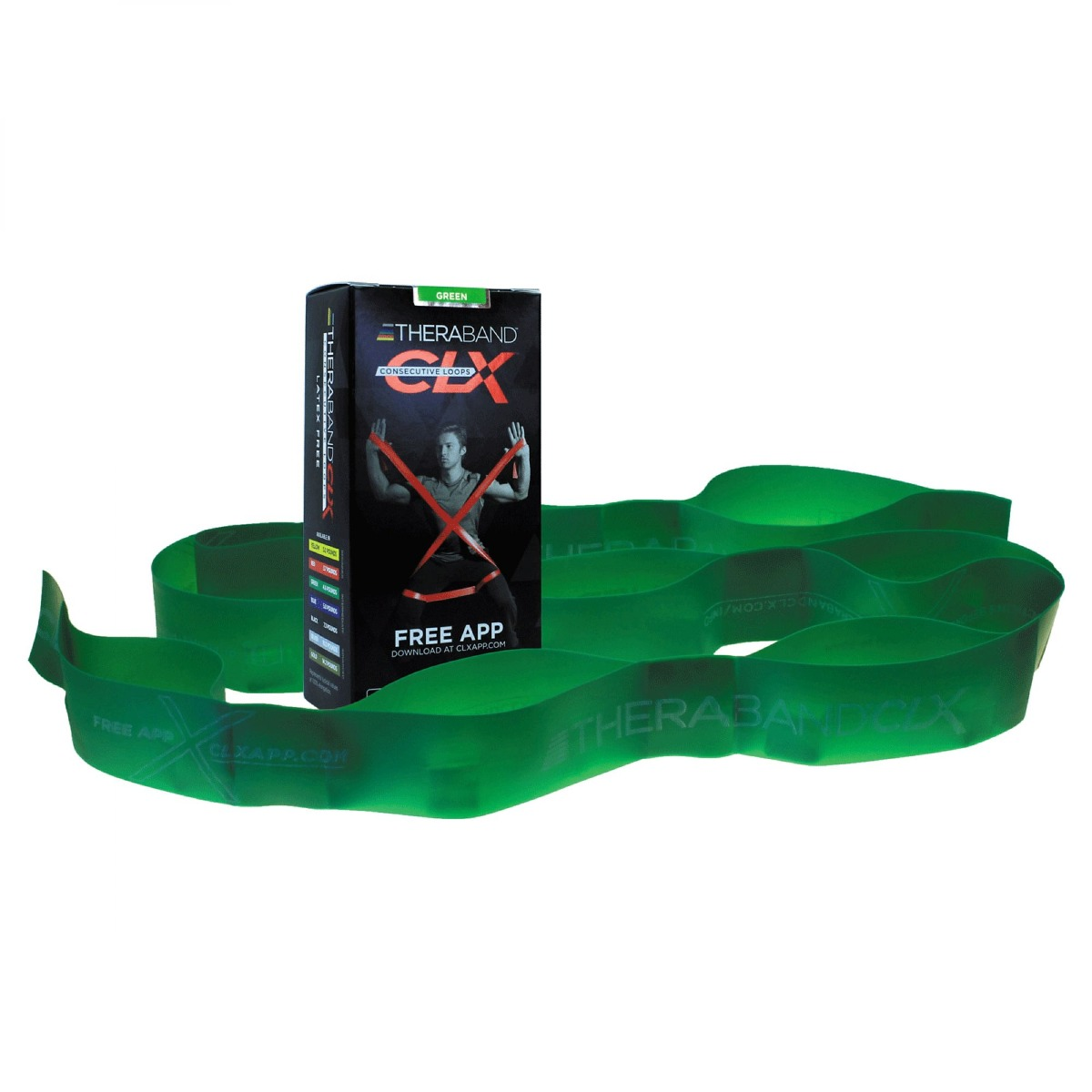 Theraband CLX Resistance Bands
