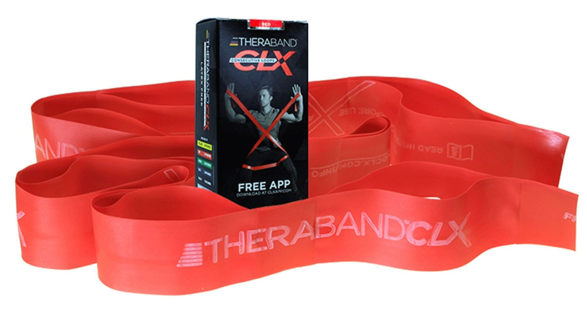 Theraband Latex Free CLX Consecutive Loops