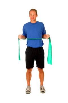 Theraband Shoulder Scapular Retraction