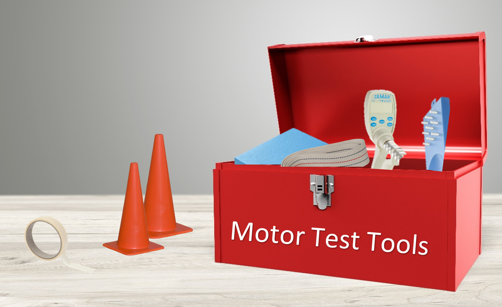 NIH Motor Test Toolbox filled with helpful products