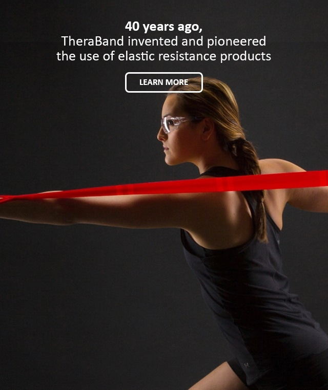 TheraBand Resistance Band in Use