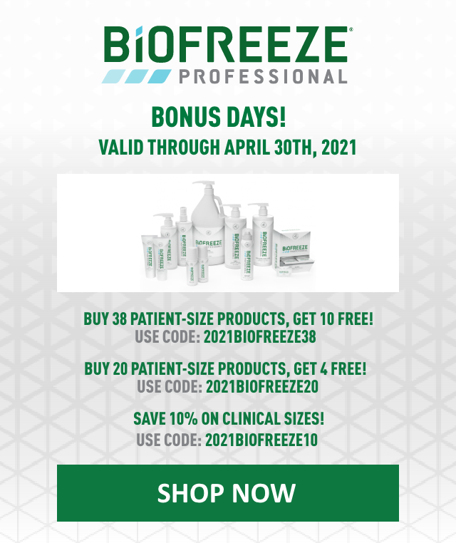 Biofreeze Professional Bonus Days