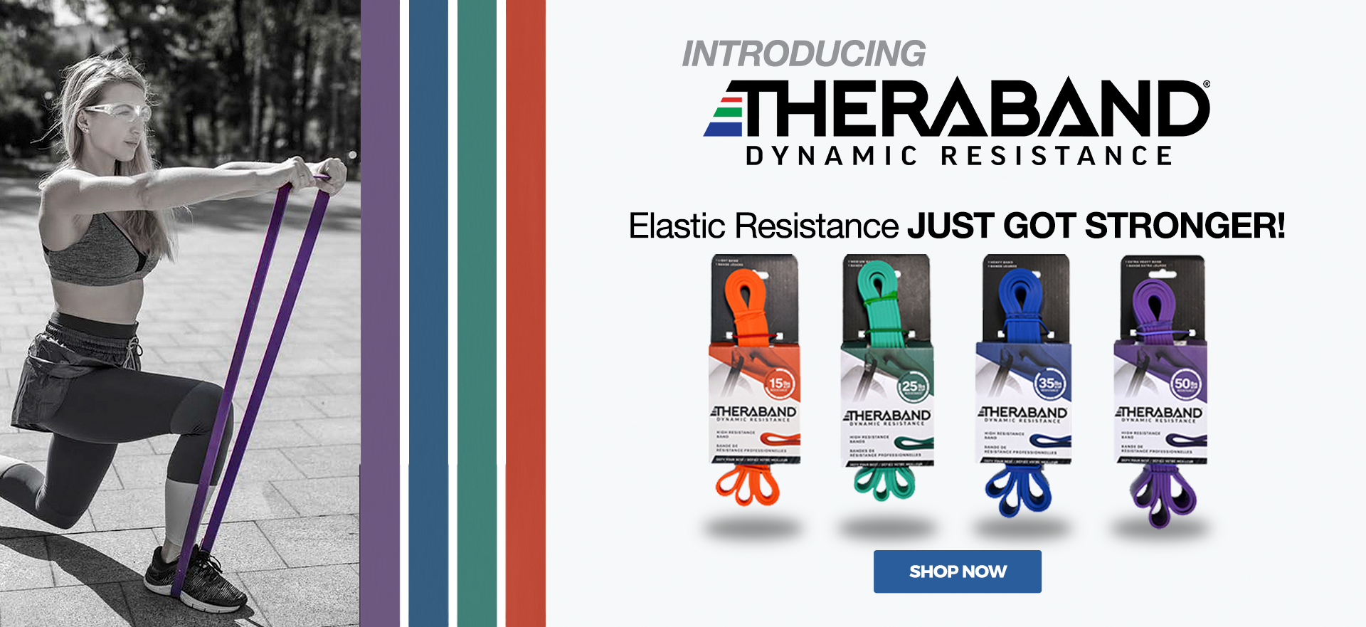 Introducing TheraBand High Resistance Bands