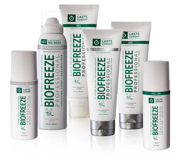 Biopfreeze Professional Product Family