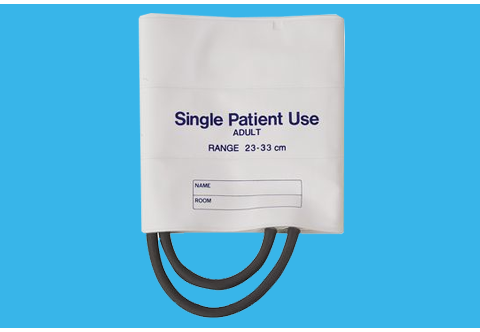 Single-Patient Use Blood Pressure Cuff