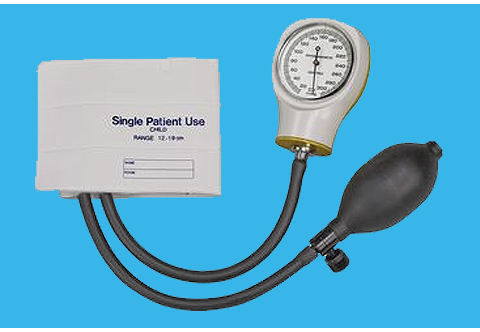 Single-Patient Use Sphygmomanometer