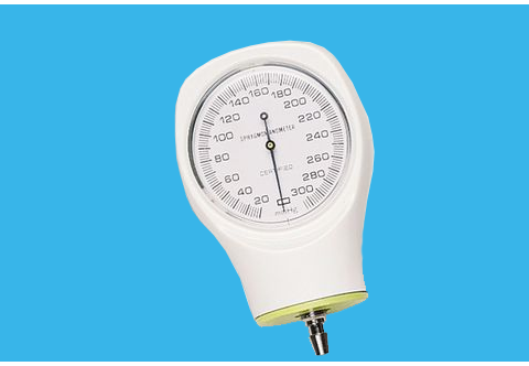 Aneroid Gauge for Single-Patient Use Cuffs