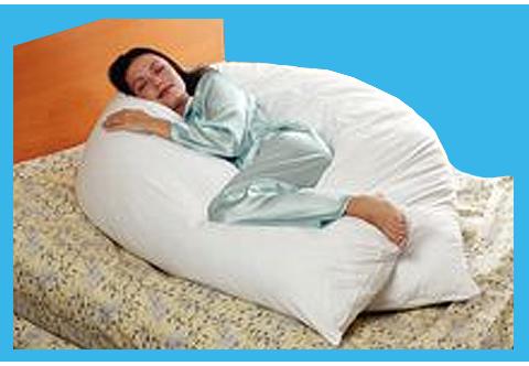 Rolyan 10 inch Long Body Pillow