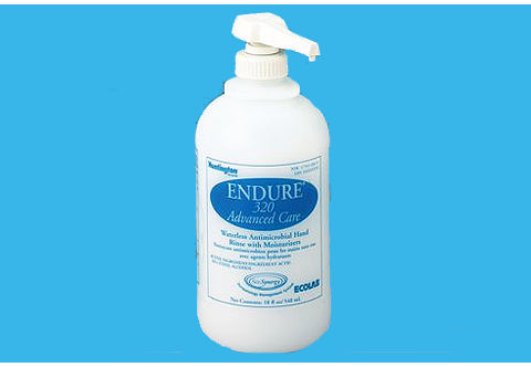 Ecolab Endure Waterless Hand Rinse Gel